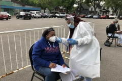 Jordan Health and the Black Physicians Network provide Education and COVID-19 Testing  for the community
