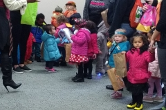 VOA Preschoolers Trick or Treat at Jordan Health
