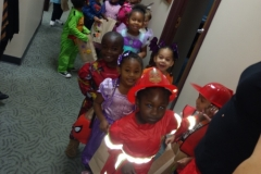 VOA Preschoolers Trick or Treat at Jordan Health 2