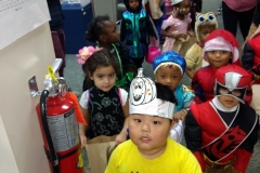 VOA Preschoolers Trick or Treat at Jordan Health 3