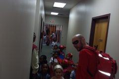 VOA Preschoolers Trick or Treat at Jordan Health 4