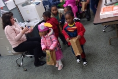 VOA Preschoolers Trick or Treat at Jordan Health 5